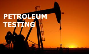 Petrolium testing
